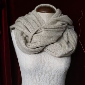 Cashmere winter scarf